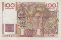 France 100 Francs Jeune Paysan - 06-09-1951 - Série M.405