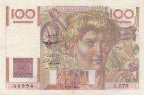 France 100 Francs Jeune Paysan - 07-01-1954 - Série L.579