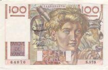France 100 Francs Jeune Paysan - 07-01-1954 - Série S.578 - TB+