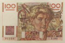 France 100 Francs Jeune Paysan - 07-01-1954 - Série Z.583 - SUP+