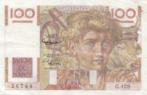 France 100 Francs Jeune Paysan - 07-02-1952 - Série G.429