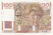 France 100 Francs Jeune Paysan - 07-02-1952 - Série H.429