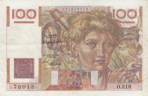 France 100 Francs Jeune Paysan - 07-04-1949 - Série O.318