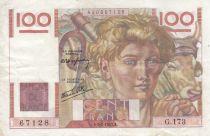France 100 Francs Jeune Paysan - 09-01-1947 - Série G.173