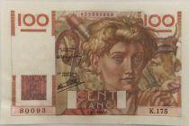 France 100 Francs Jeune Paysan - 09-01-1947 - Série K.175 - SUP+