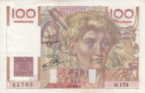 France 100 Francs Jeune Paysan - 09-01-1947 - Série Q.179
