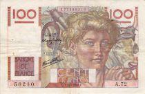 France 100 Francs Jeune Paysan - 11-07-1946 - Série A.72 - PTTB
