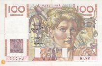 France 100 Francs Jeune Paysan - 12-10-1950 - Série G.372 - TTB