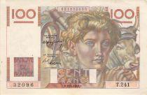 France 100 Francs Jeune Paysan - 15-04-1948 - Série T.241 - TTB+