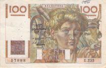 France 100 Francs Jeune Paysan - 15-04-1948 - Série U.233 - TB+