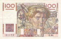 France 100 Francs Jeune Paysan - 16-05-1946 - Série E.44 - TTB