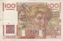 France 100 Francs Jeune Paysan - 16-05-1946 - Série E.48