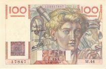 France 100 Francs Jeune Paysan - 16-05-1946 - Série W.44 - SUP