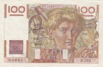 France 100 Francs Jeune Paysan - 16-11-1950 - Série D.392