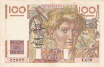 France 100 Francs Jeune Paysan - 16-11-1950 - Série F.386 - PTTB