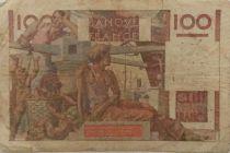 France 100 Francs Jeune Paysan - 16-11-1950 - Série V.379 - TB