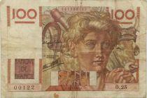 France 100 Francs Jeune Paysan - 17-01-1946 - Série O.25 - TB