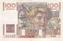 France 100 Francs Jeune Paysan - 18-04-1946 - Série V.39 - PTTB