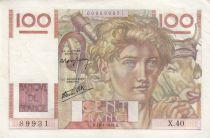 France 100 Francs Jeune Paysan - 18-04-1948 - Série X.40