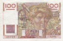 France 100 Francs Jeune Paysan - 19-05-1949 - Série G.341