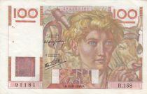 France 100 Francs Jeune Paysan - 19-12-1946 - Série R.158
