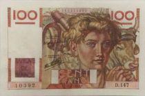 France 100 Francs Jeune Paysan - 21-11-1946 - Série D.147 - SUP