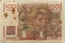 France 100 Francs Jeune Paysan - 21-11-1946 - Série D.153 - TTB