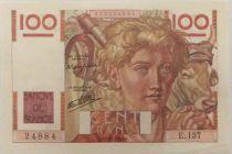 France 100 Francs Jeune Paysan - 21-11-1946 - Série E.137 - SPL