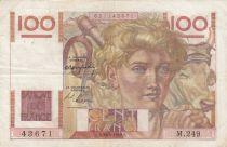 France 100 Francs Jeune Paysan - 29-04-1948 - Série M.249