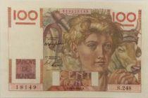 France 100 Francs Jeune Paysan - 29-04-1948 - Série S.248 - SUP+