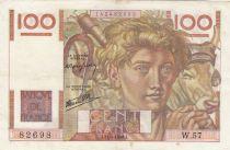 France 100 Francs Jeune Paysan - 31-05-1946 - Série W.57