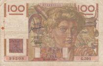 France 100 Francs Jeune Paysan - années 1945 à 1954