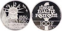 France 100 Francs Liberté - 1986 Argent Piéfort 30g