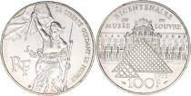 France 100 Francs Liberty - Bicentennial of Louvre 1993