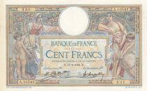 France 100 Francs LO Merson - 11-04-1924 Série A.10542