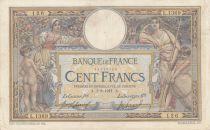 France 100 Francs Luc Olivier Merson - 01-08-1911 Série L.1369 - TB+