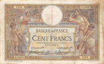 France 100 Francs Luc Olivier Merson - 02-09-1914 Série Q.2406 - TB