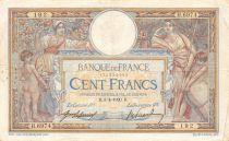 France 100 Francs Luc Olivier Merson - 03-04-1920 Série H.6974 - TB