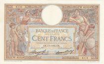 France 100 Francs Luc Olivier Merson - 04-01-1934 -  Série W.42528