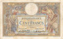 France 100 Francs Luc Olivier Merson - 07-02-1923 Série Q.8971 - TB