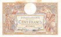 France 100 Francs Luc Olivier Merson - 07-07-1938 Série G.60075 - TTB