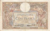 France 100 Francs Luc Olivier Merson - 08-01-1929 -  Série W.23818