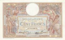 France 100 Francs Luc Olivier Merson - 10-02-1938 -  Série E.57647