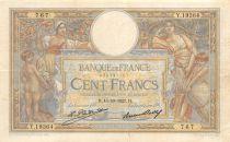 France 100 Francs Luc Olivier Merson - 15-10-1927 Série Y.19364 - TB