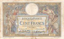 France 100 Francs Luc Olivier Merson - 16-02-1923 Série W.9003 - PTB