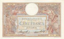 France 100 Francs Luc Olivier Merson - 17-06-1937 -  Série Z.54801