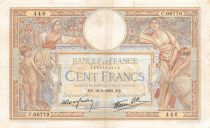 France 100 Francs Luc Olivier Merson - 19-05-1939 Série C.66779 - TTB