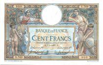 France 100 Francs Luc Olivier Merson - 1909