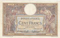 France 100 Francs Luc Olivier Merson - 1914 à 1918