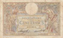 France 100 Francs Luc Olivier Merson - 1926 à 1939
